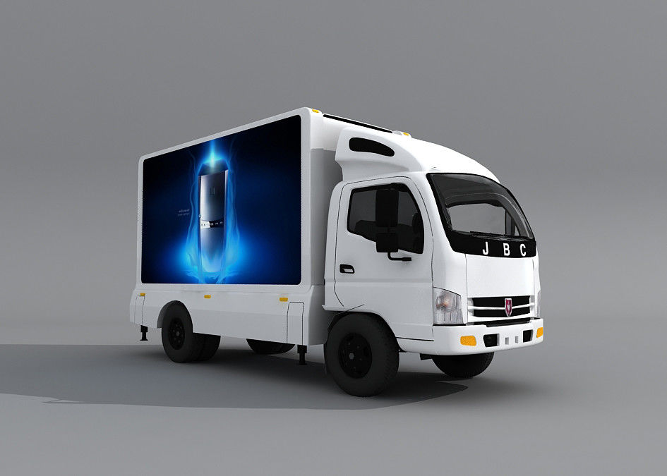 Cina Waterproof IP65 P8 Truck LED Boards, Truk Ponsel LED Display Lorry Advertisement pabrik