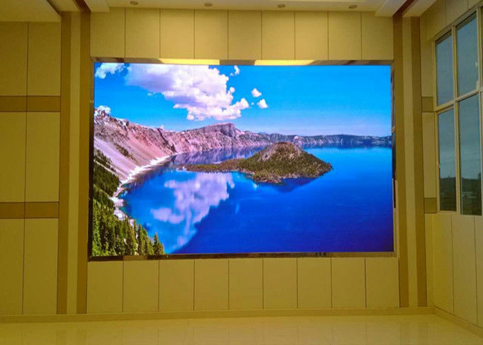Full LED Wall Display Screen, P6 Advertising Display Board High Refresh Rate pemasok