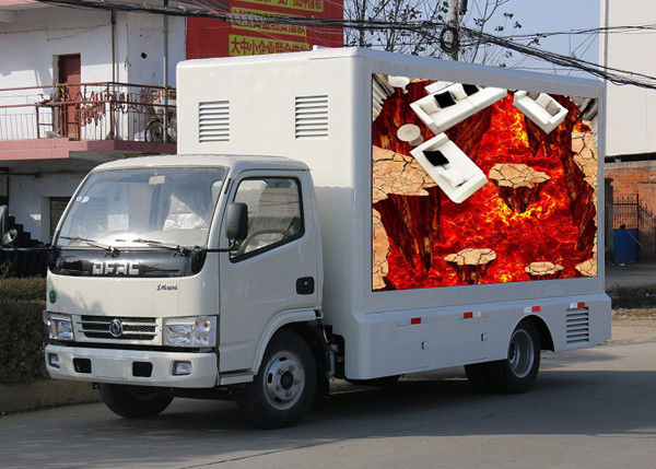 Cina Digital Billboard Outdoor Mobile LED Screen, Truck Mounted LED Display Constant Drive pabrik