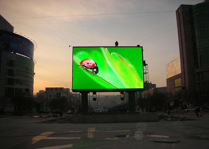 Cina Outdoor Waterproof LED Advertising Display P8 Dinding Layar LED Rendah Konsumsi Daya pabrik