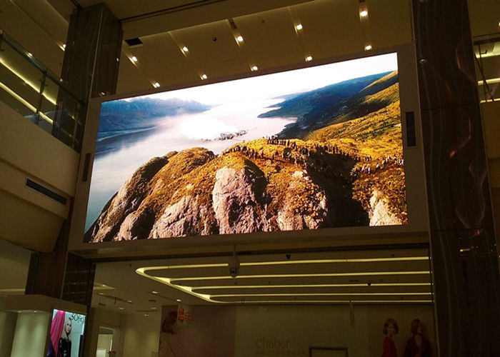 Cina Digital Full Color LED Menampilkan Iklan Indoor P3 HD LED Video Wall Waterproof IP65 pabrik