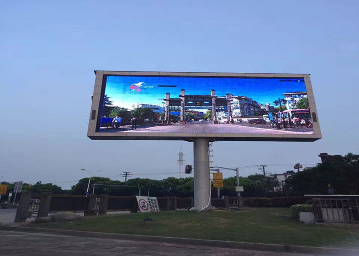 Cina Iklan Outdoor Advertising LED Display, P5 LED Advertising Board IP65 pabrik