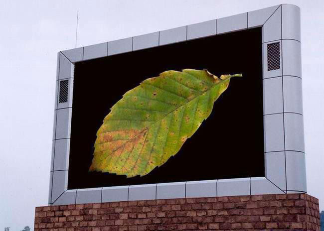Cina Full Color Digital P8 Outdoor LED Tetap Tampilan Iklan LED Video Wall pabrik