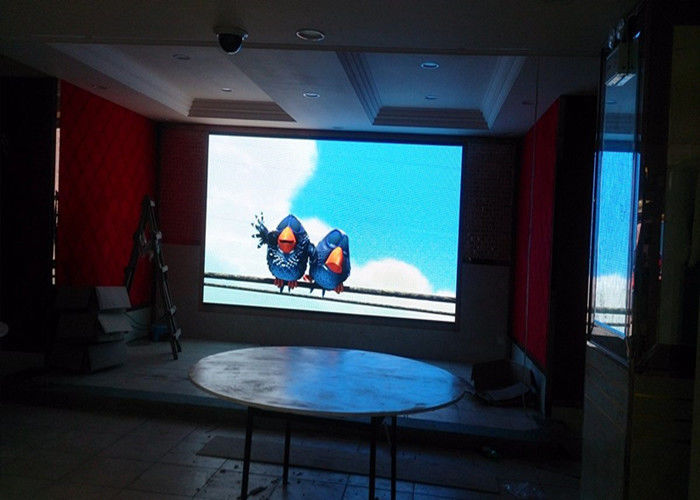 Cina Tahap Background Full Color Led Screen, P4 Dipimpin Menampilkan Iklan Video Wall pabrik