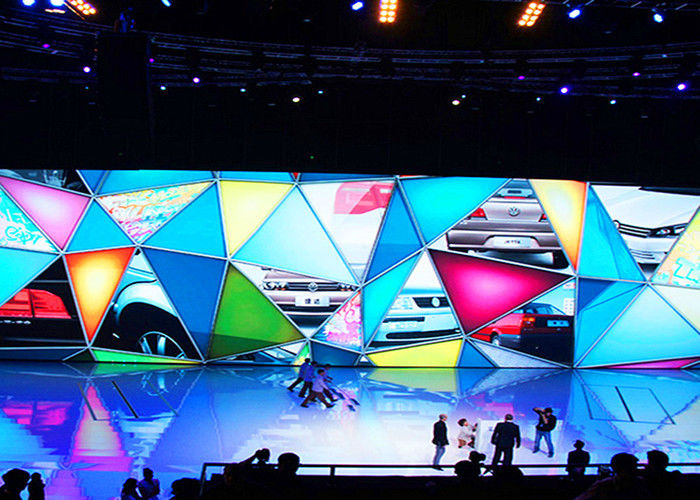Cina HD Indoor Rental LED Display, P2.5 Tahap Background LED Display Big Screen pabrik