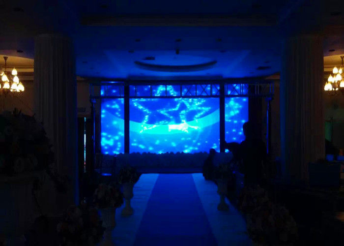 P3 Indoor Full Color LED Tampilan HD Rental Tahap Layar LED 1R1G1B AC 110 / 220v