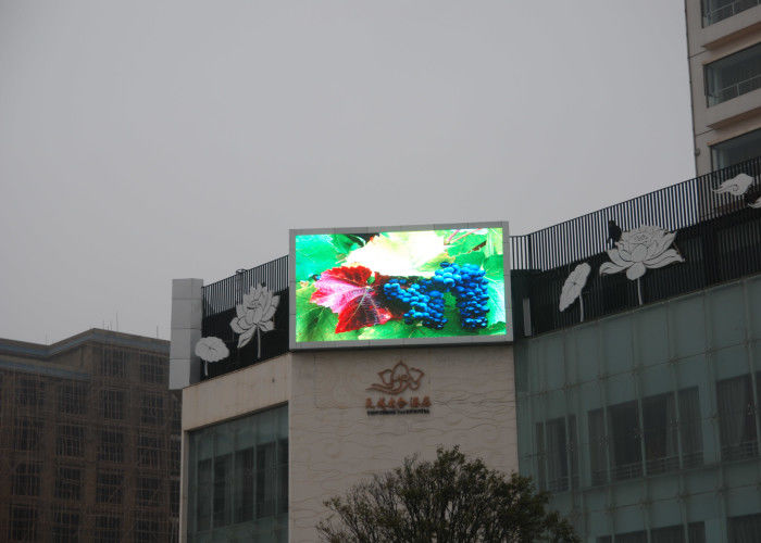 Daya rendah P6 terbuka LED Video Display SMD Fixed Billboard MBI5124 Drive 30W