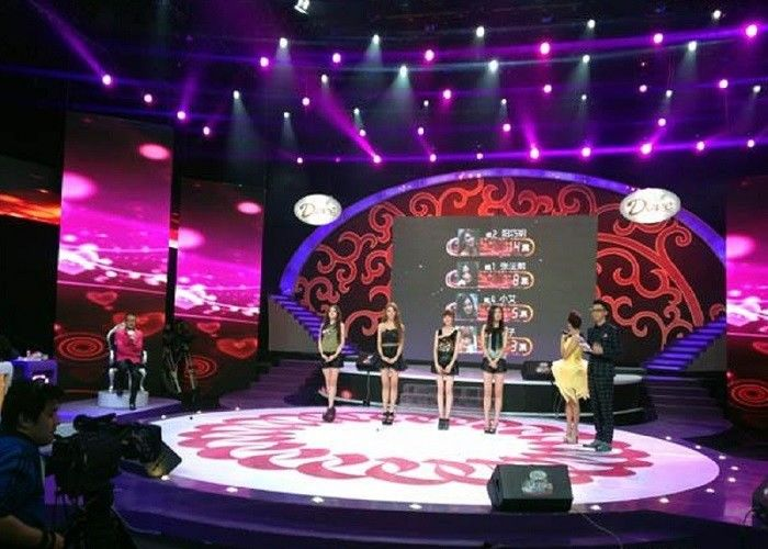 Cina Sewa P5 Indoor Stage LED Display Smd 3528 1/16 Scan IP34 100000 Jam Hidup pabrik