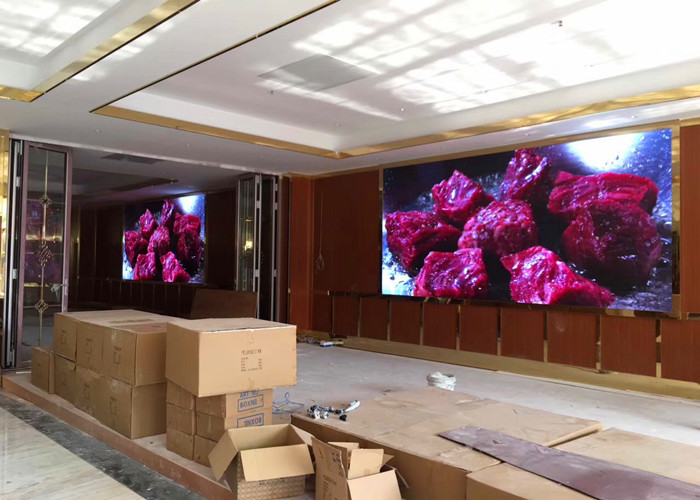 P2 5 Indoor Hd Led Video Wall Elektronik Panel Periklanan